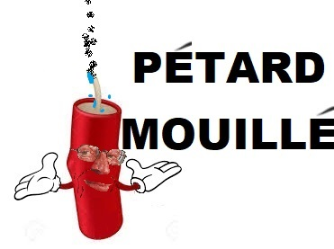 Sticker petard mouille larry pas de chance echec deception rouge tnt fail fairy tail one piece bleach naruto
