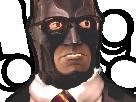 Sticker risitas batman sexy domination
