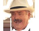 Sticker rire risitas chapeau mdr