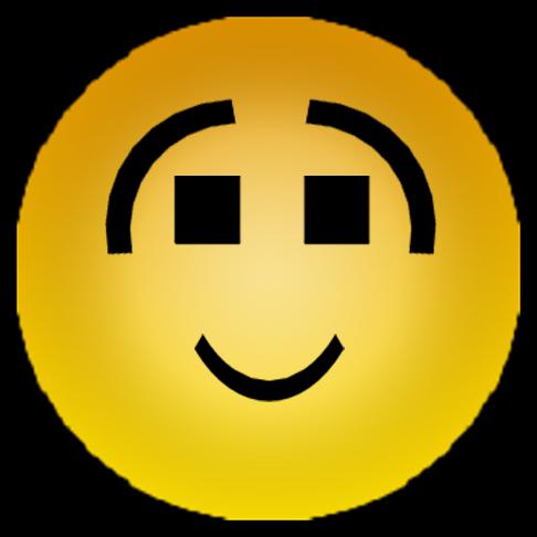 Sticker other hap hapiste onche sourire gene troll smiley jaune eco rire