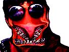 Sticker jesus creepy bizarre omg monstre risitas
