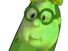 Sticker risitas pickle carl cancer