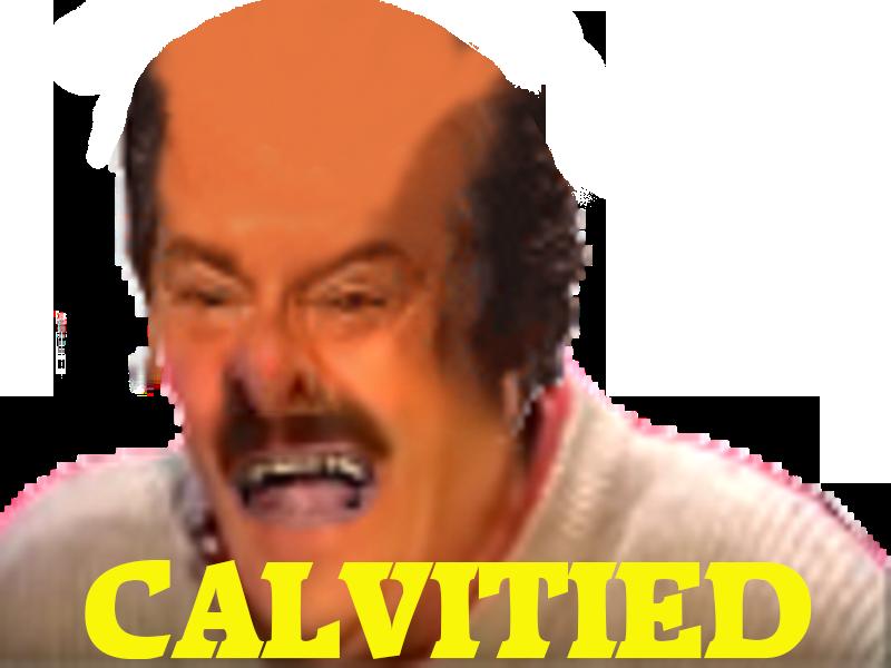 Sticker risitas jesustas calvitie calvitied uoche deform chauve monstre