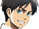 Sticker snk eren sourire
