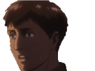 Sticker snk bertholdt choque