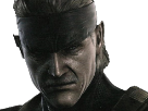 Sticker mgs solidsnake vieux