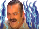 Sticker risitas ultra instinct
