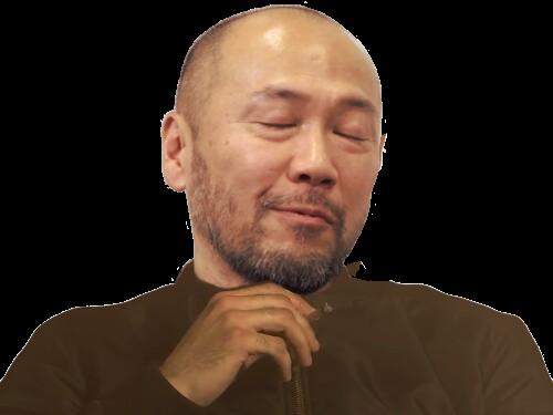 Sticker risitas takehiko inoue alkapote joint pose dieu du manga meilleur mangaka de lunivers