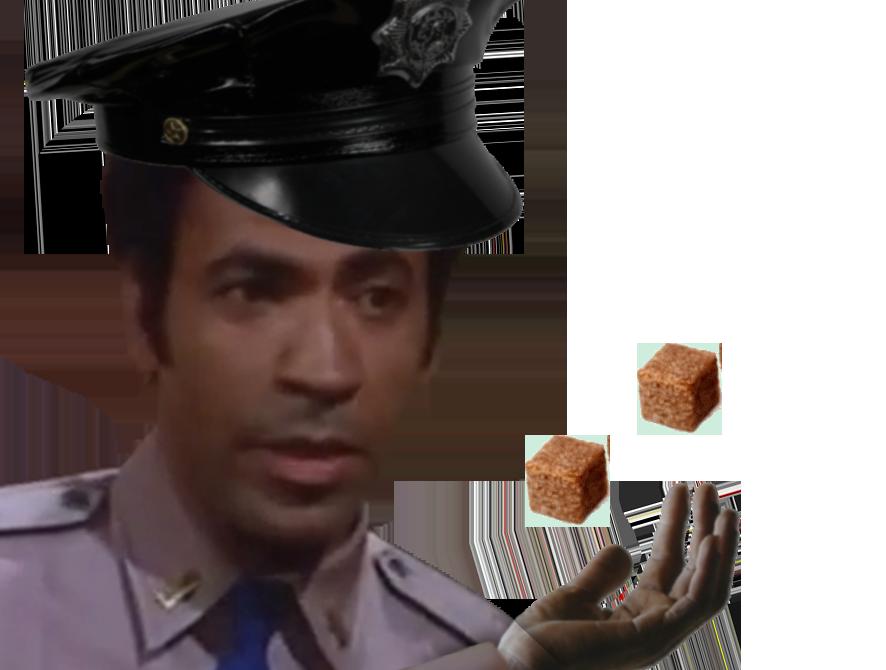 Sticker other 2 sucres gilbert original 2 sucwes avn avenoel policier casquette sainte relique noir assault on precinct 13 ethan cafe