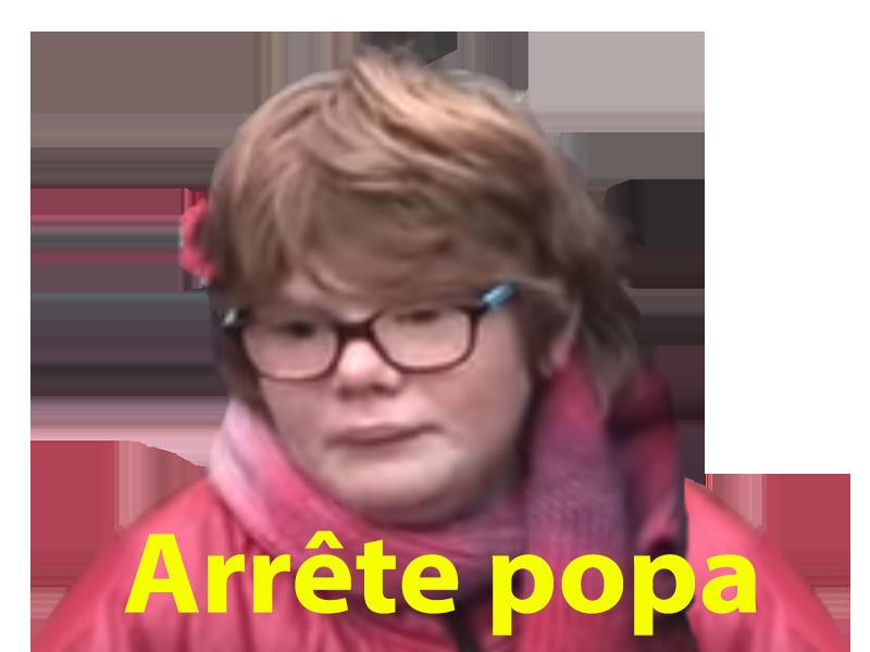 Sticker other johnyy djo jo beauf nord consanguin moche laid enfant gosse