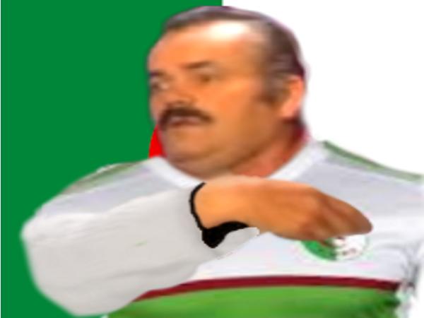 Sticker algerie maillot risitas tahia djazair main coeur