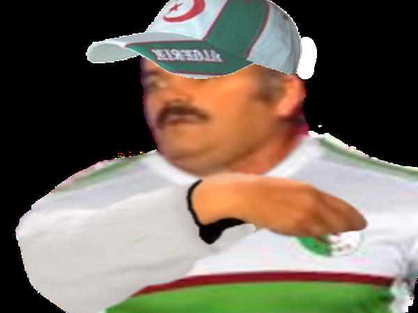 Sticker algerie maillot risitas casquette tahia djazair