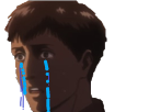 Sticker other snk bertholdt pleure
