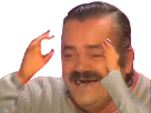 Sticker transparent darktheme risitas wtf rire bras omg