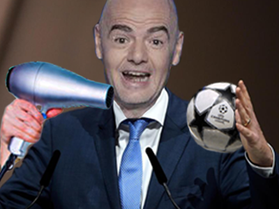 Sticker other infantino uefa fifa ucl chamions league ligue des champions foot paris psg barcelone barca madrid real tirage au sort hasard