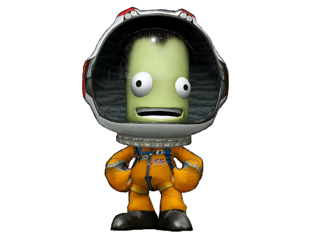 Sticker other kerbal space program vert espace astronaute cosmonaute taikonaute spationaute vert
