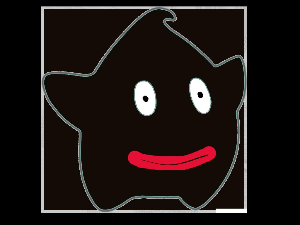 Sticker other luma noir blackface sourire rouge levre caricature content heureux etoile cfw antoine griezman