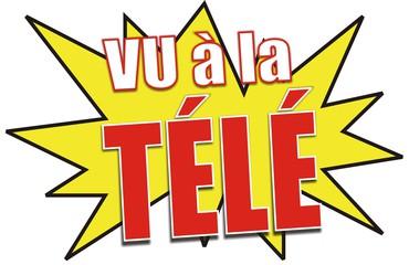 Sticker risitas vu tele television tele achat consommation journaliste medias