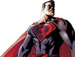 Sticker risitas superman communisme urss rouge staline revolution antifa
