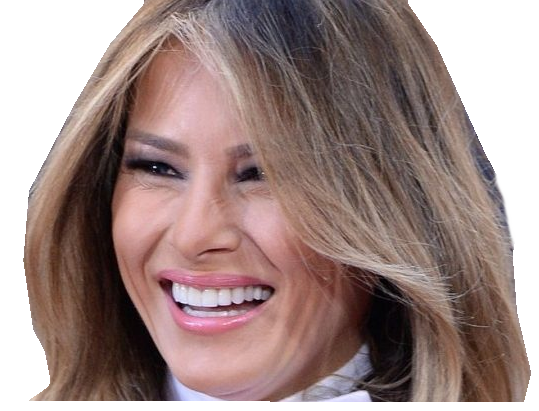 Sticker other melania trump rire