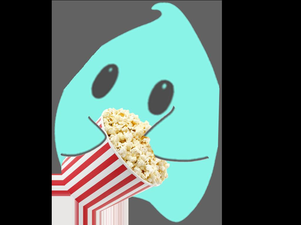 Sticker other luma pop corn manger bleu etoile cfw faim cinema