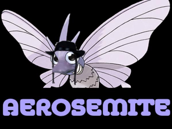 Sticker aerosemite pokemon aeromite other