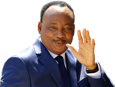 Sticker risitas issoufou niger president rire noir mamadou
