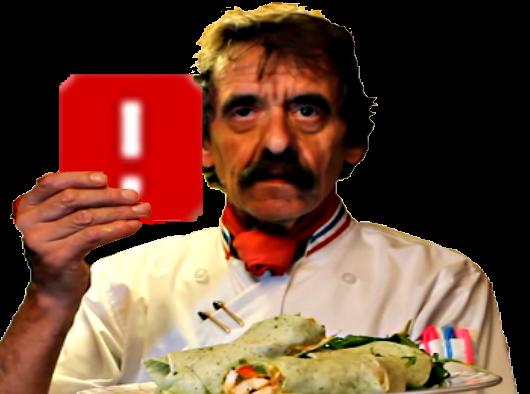 Sticker chef michel dumas cuisine bouffe ddb