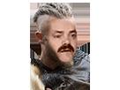 Sticker ragnar lothbrok lodbrok risitas viking vikings fuck