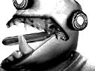 Sticker risitas monstre enfer omg bizarre