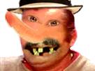 Sticker risitas creepy monstre bizarre omg immonde