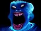 Sticker risitas creepy enfer demon omg bizarre monstre