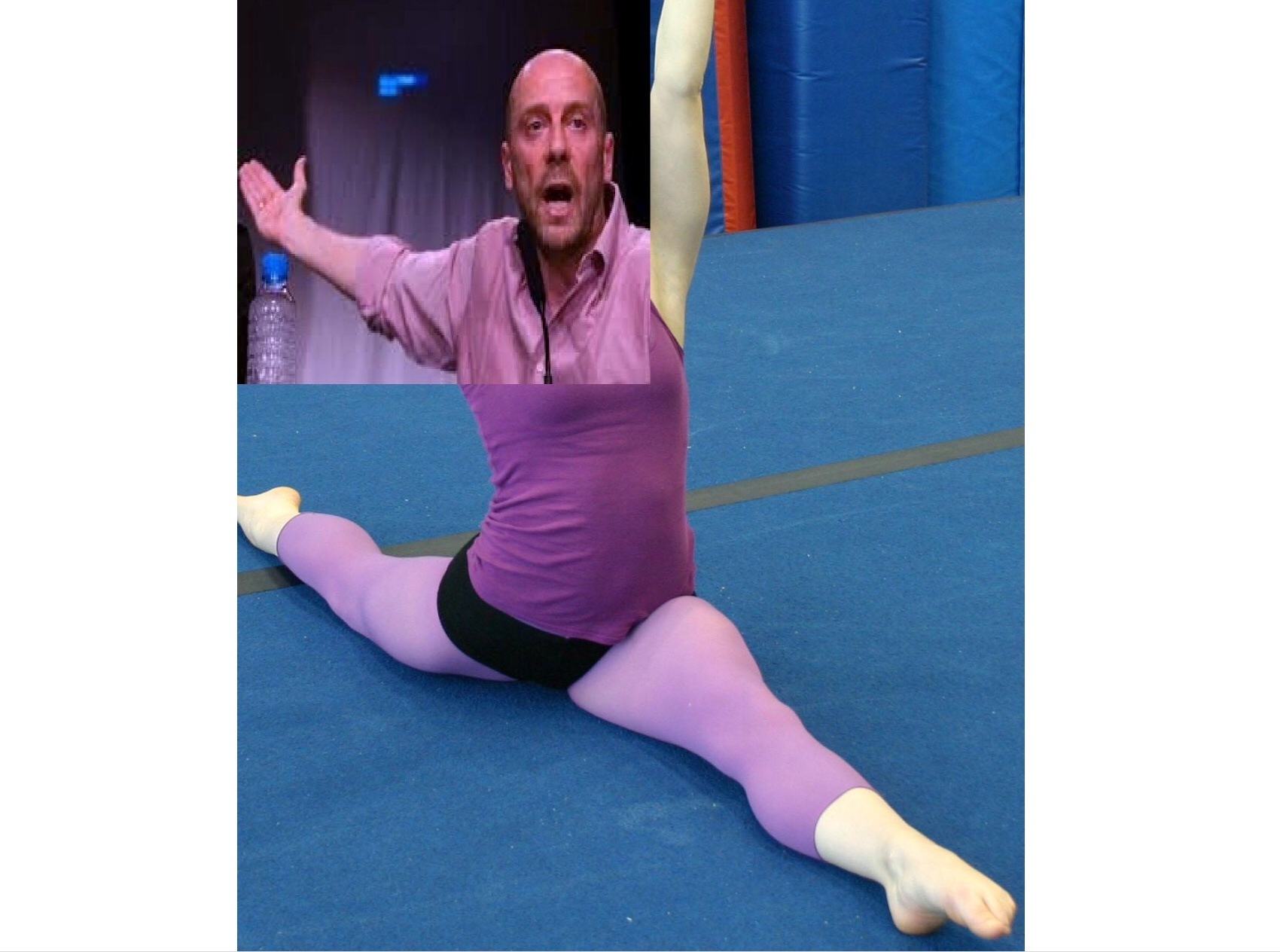 Sticker alain soral danseuse etoile dissident er gay pd homo poupeto