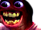 Sticker risitas creepy omfg bordel enfer monstre issou
