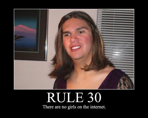 Sticker risitas rule30 fake fille