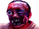 Sticker risitas creepy monstre bizarre omg issou