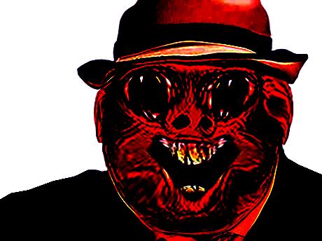 Sticker risitas creepy bizarre demon aya enfer omg issou