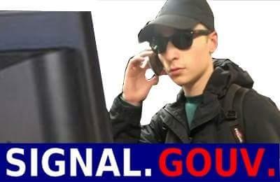 Sticker risitas signal gouv robert