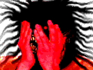 Sticker creepy demon risitas aya bizarre omg monstre