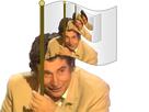 Sticker risitas jesus drapeau repete miroir inception 70m infini sourire