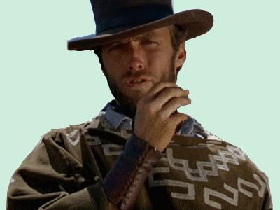 Sticker other clint eastwood western cowboy
