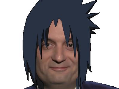 Sticker kikoojap sasuke philippot konoha naruto