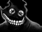 Sticker risitas creepy bizarre aya monstre demon issou