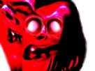 Sticker el peito creepy omg risitas cunao goudja aya demon mono dent risitas
