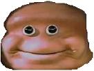 Sticker other loaf bloke face