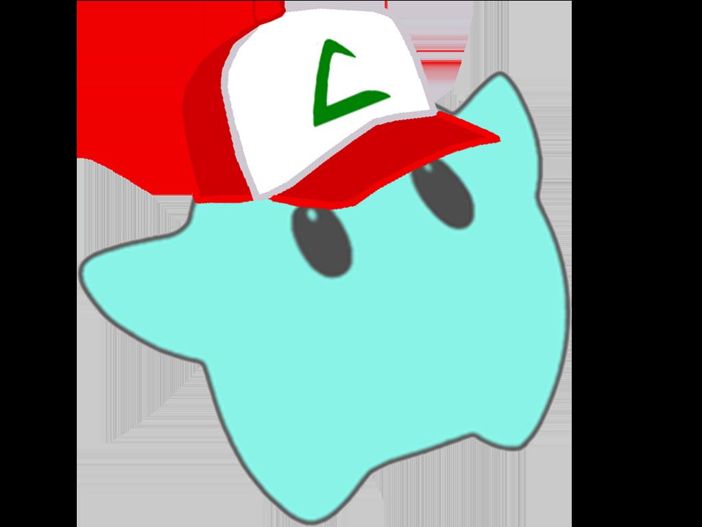 Sticker other luma dresseur pokemon ash sacha casquette blanche rouge attraper etoile cfw