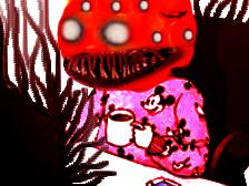 Sticker risitas creepy demon omg bureau oklm issou cafe aya bizarre monstre enfer