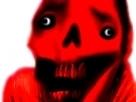 Sticker risitas demon omg bizarre creepy bizarre aya omg enfer