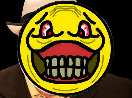 Sticker risitas smiley dents rire jpp omg
