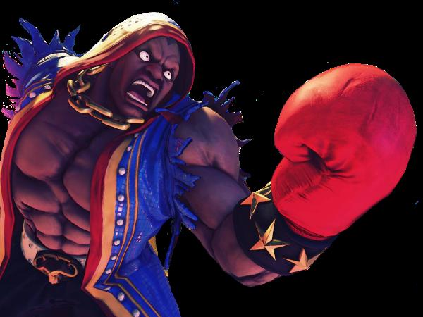 Sticker balrog street fighter v sfv boxeur boxe cinq boxer other uppercut